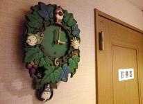 可愛いトトロの時計